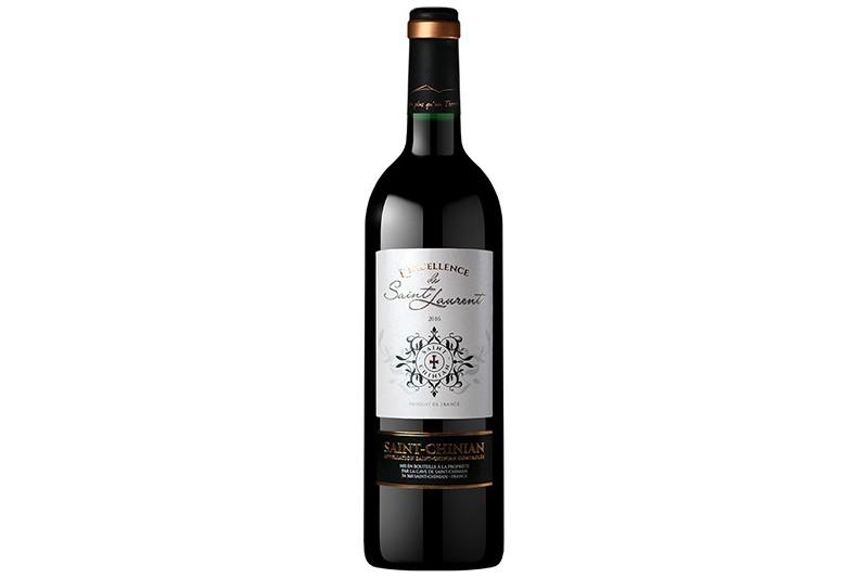 Vin rouge 75cl St-Chinian L'excellence de St-Laurent
