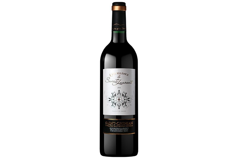 Vin rouge St-Chinian L'excellence de St-Laurent 75cl