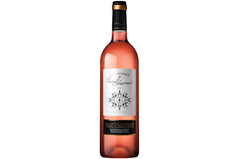 Vin rosé St-Chinian L'excellence de St-Laurent 75cl