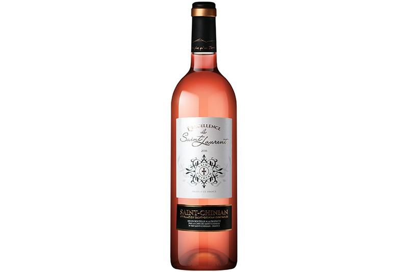 Vin rosé 37.5cl St-Chinian L'excellence de St-Laurent